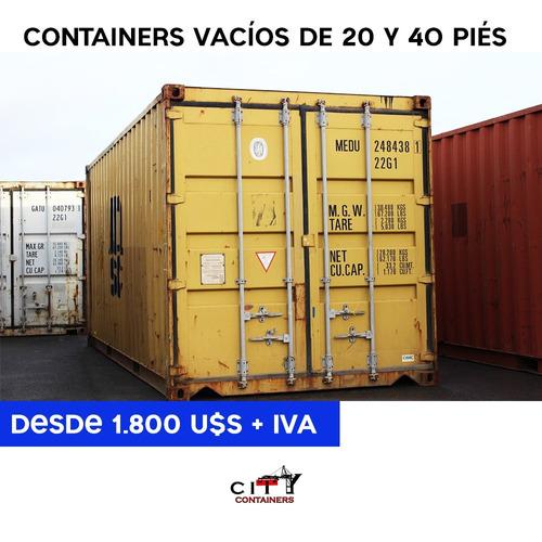 contenedores vacios de 20 y 40 pies para vivienda