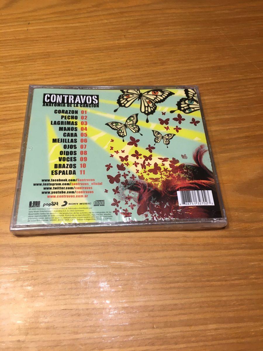 Contravos Anatomia De La Cancion Cd Nuevo Rock Nacional - $ 142,99 ...
