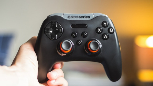 control joystick gamepad steelseries stratus xl inalambrico