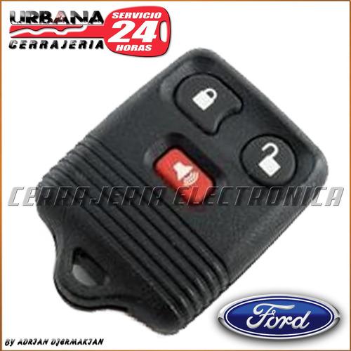 control remoto ford 4 botones codificada cerrajeria urbana