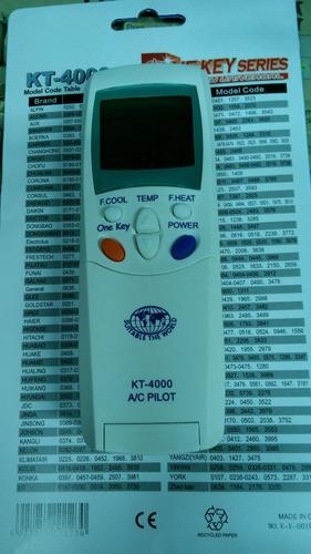 control remoto para aire acondicionado, todos!