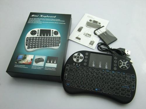 control teclado con mouse usb android smart tv practico nnet