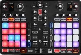 controlador para dj hercules p 32  multipad