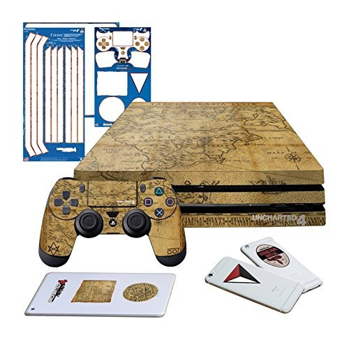controller gear uncharted 4 map ps4 pro horizontal