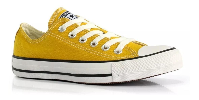 converse amarillas mostaza