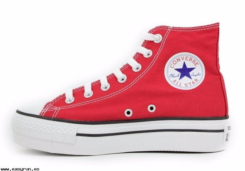 all star converse blancas mujer