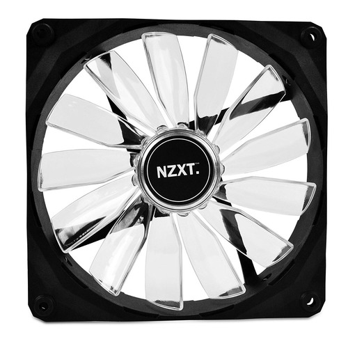 cooler gabinete nzxt technologies nzxt fz-140mm blue led