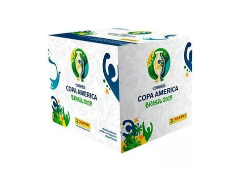 copa america brasil 2019 figuritas caja - 50 sobres