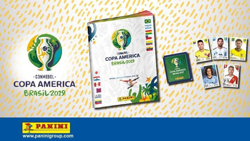 copa america brasil 2019 panini figuritas sueltas a $8