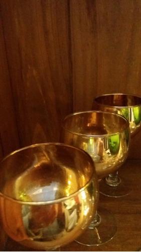 copas y chupitos antiguos en cristal coleccionable