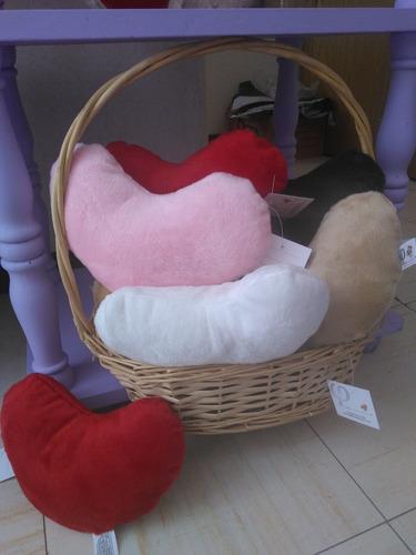 corazones de peluche 20 cms u otras figura