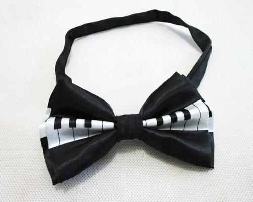 corbata piano pajarita envio expres teclado moño esmoquin