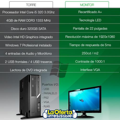 core +monitor computadora