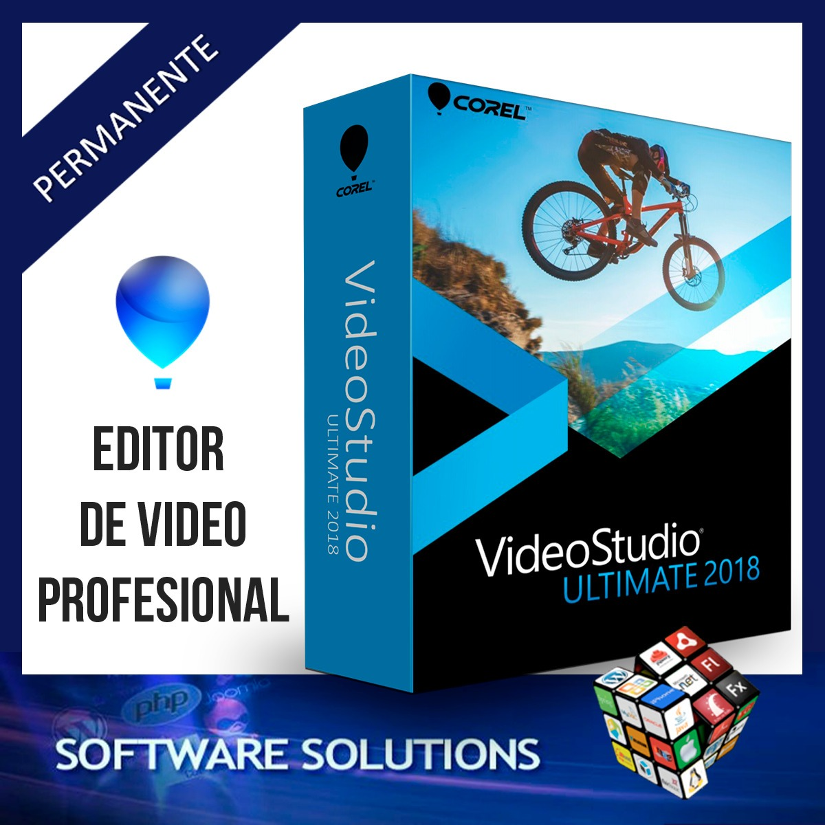 Corel Videostudio Ultimate 2018 Editor De Vídeo Profesional