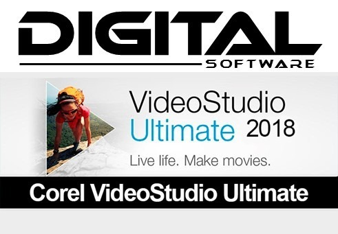 Corel Videostudio Ultimate (2018) V21 3 Envio Online - $ 300,00