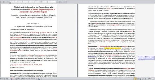 corrección de estilo en artículos y trabajos académicos