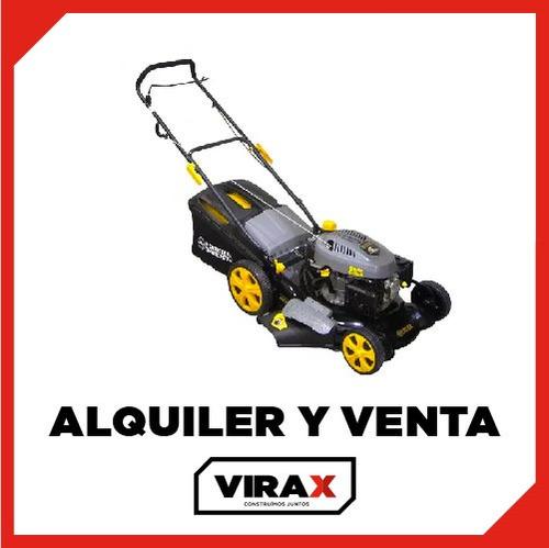 cortadora, cesped, jardin, pasto, alquiler, ventas, virax