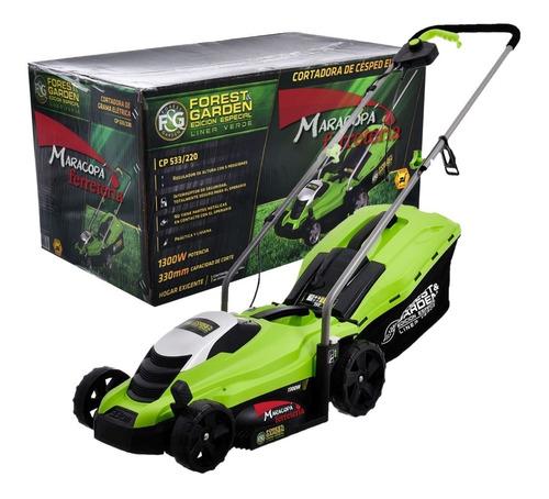 cortadora césped pasto eléctrica 1300w cp533 forest & garden
