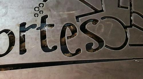 corte plasma cnc pantografo platinas calados chapas carteles