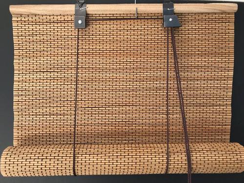 cortina de bambu. esterilla. 70x120.