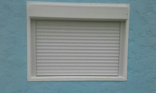 cortina de enrollar  pvc sin albañileria 1.20 x 1.00