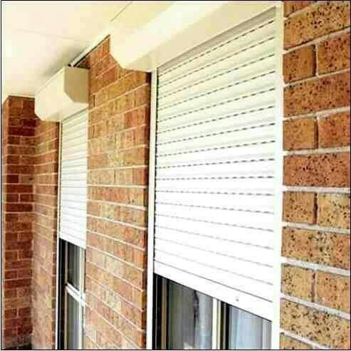 cortina de enrollar  pvc sin albañileria panel precio super