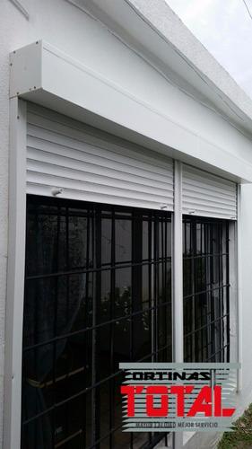 cortina de enrollar sin albañileria 1.6 x 2precio por unidad