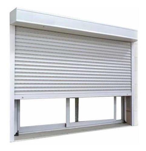 cortina de enrollar - sin albañilería - pvc - 180 x 120