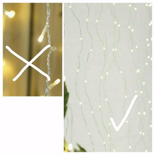 cortina luces luciérnagas corta. a brillar mi amor.