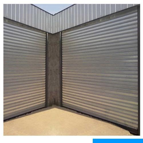 cortina metálica de 3.00 x 3.00 equipamiento comercial