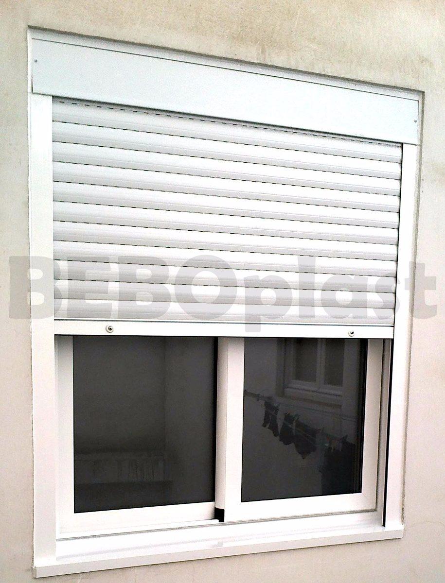 Cortina monoblock c ventana de aluminio x 5 for Ventanas de aluminio con cortina