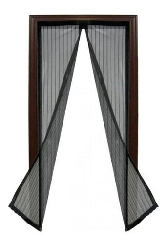 cortina mosquitero para puerta iman - magic mesh