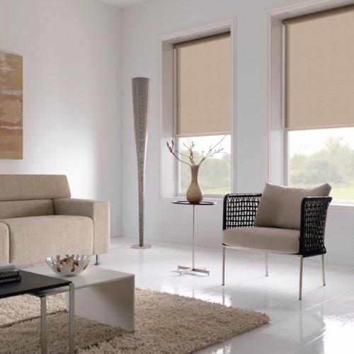 cortina persiana roller blackout - 80 cm