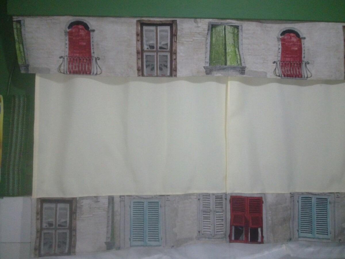 Cortinas de dise o cocina comedor en panama tela tapiceria 750 00 en mercado libre - Disenos de cortinas de tela ...