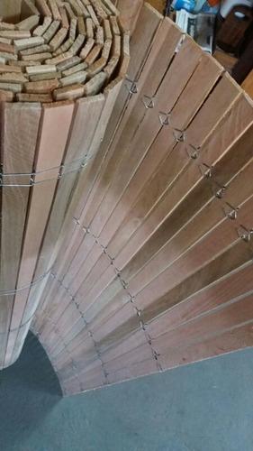 cortinas esteras de madera eucalipto