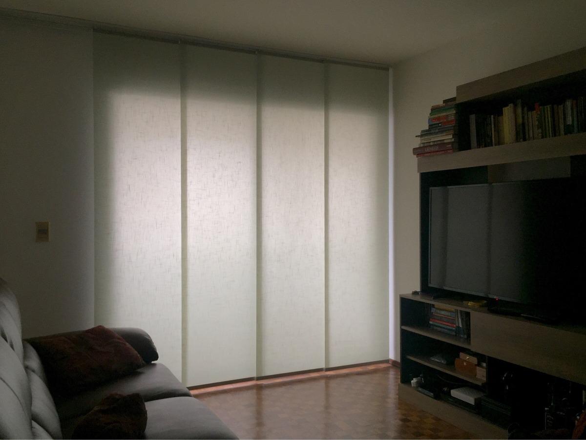 Cortinas panel oriental panel japones a medida 1 for Muebles orientales montevideo