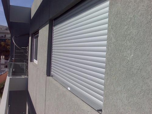 cortinas persianas de enrollar aluminio color blanco