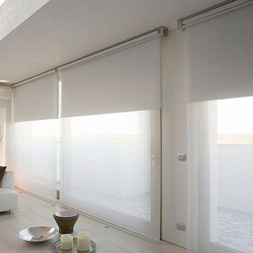 cortinas rollers dobles, blackout, screen, rústicos, diseños