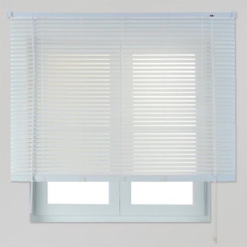 cortinas venecianas - medidas - blanco, beige y madera.