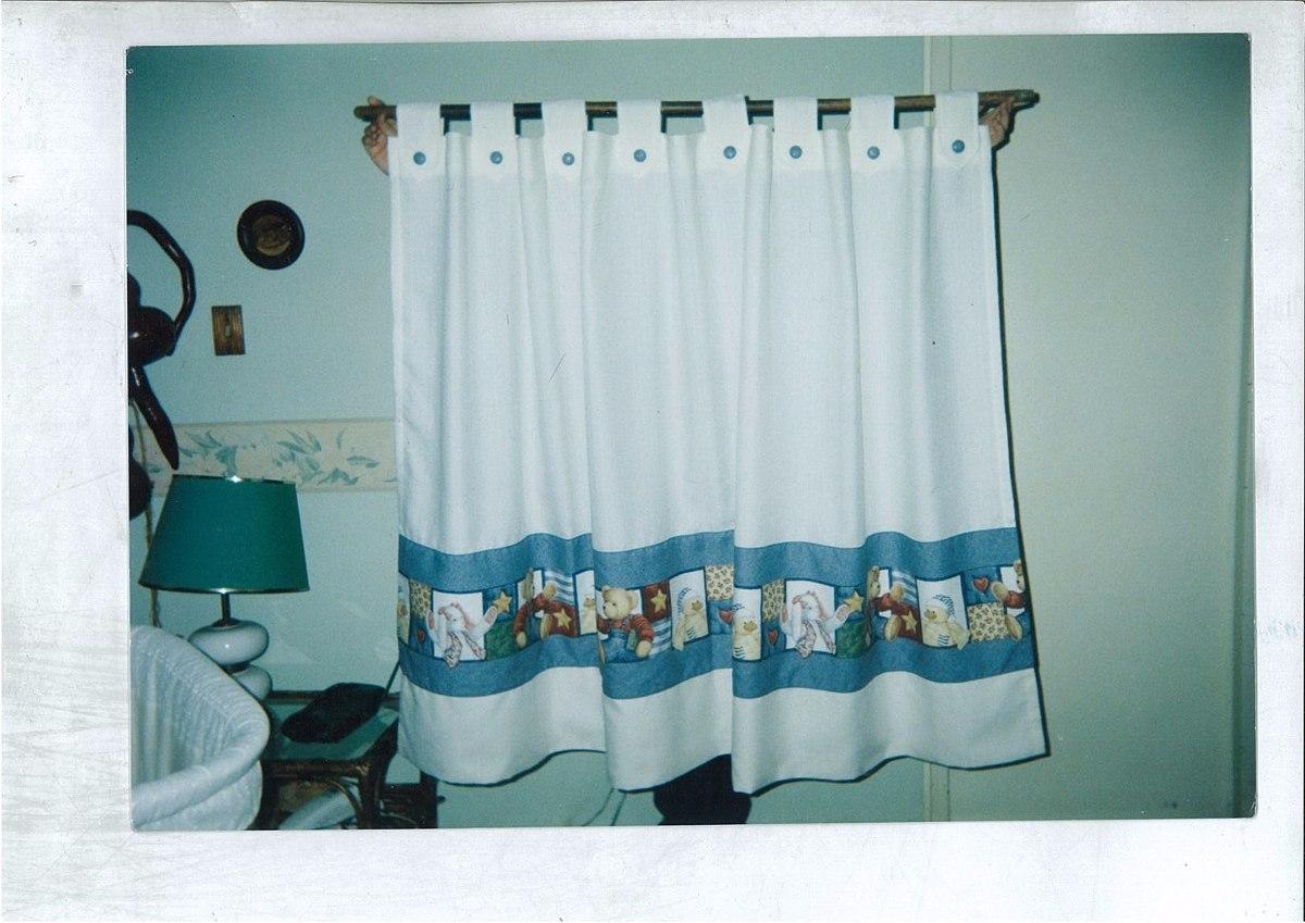 Cortinas y faldones para cuartos de bebes y ni os 500 for Cortinas habitacion bebe