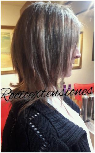 cortknas de cabello natural no procesado