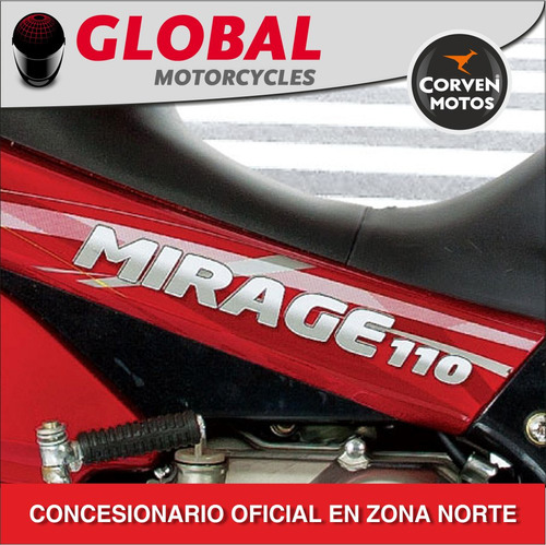 corven mirage 110 full!! agencia oficial global motorcycles
