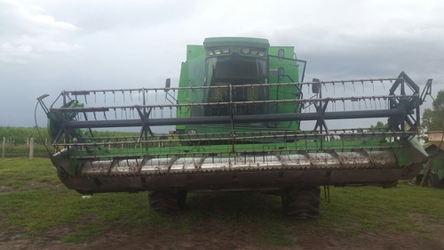 cosechadora john deere 8700 hidro  pronta para trabajar