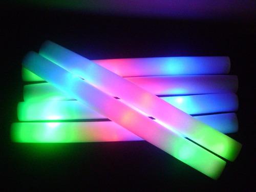 cotillón luminoso, barras de espuma 10 x $ 200