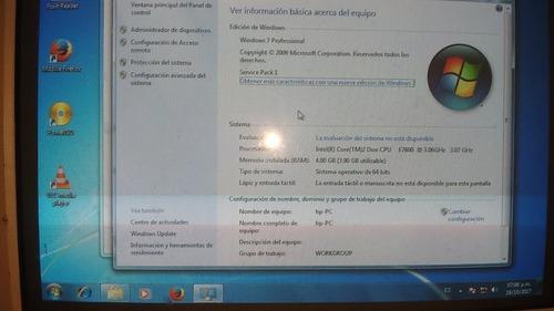 cpu hp intel core 2 windows 7