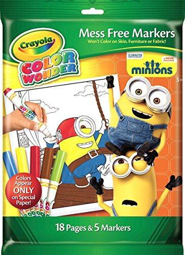 Crayola Color Wonder Ow Marcadores - Minions - $ 940.00 en Mercado Libre