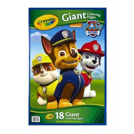 Crayola Gigante Para Colorear Páginas De Nickelodeon Pata - U$S 46 ...