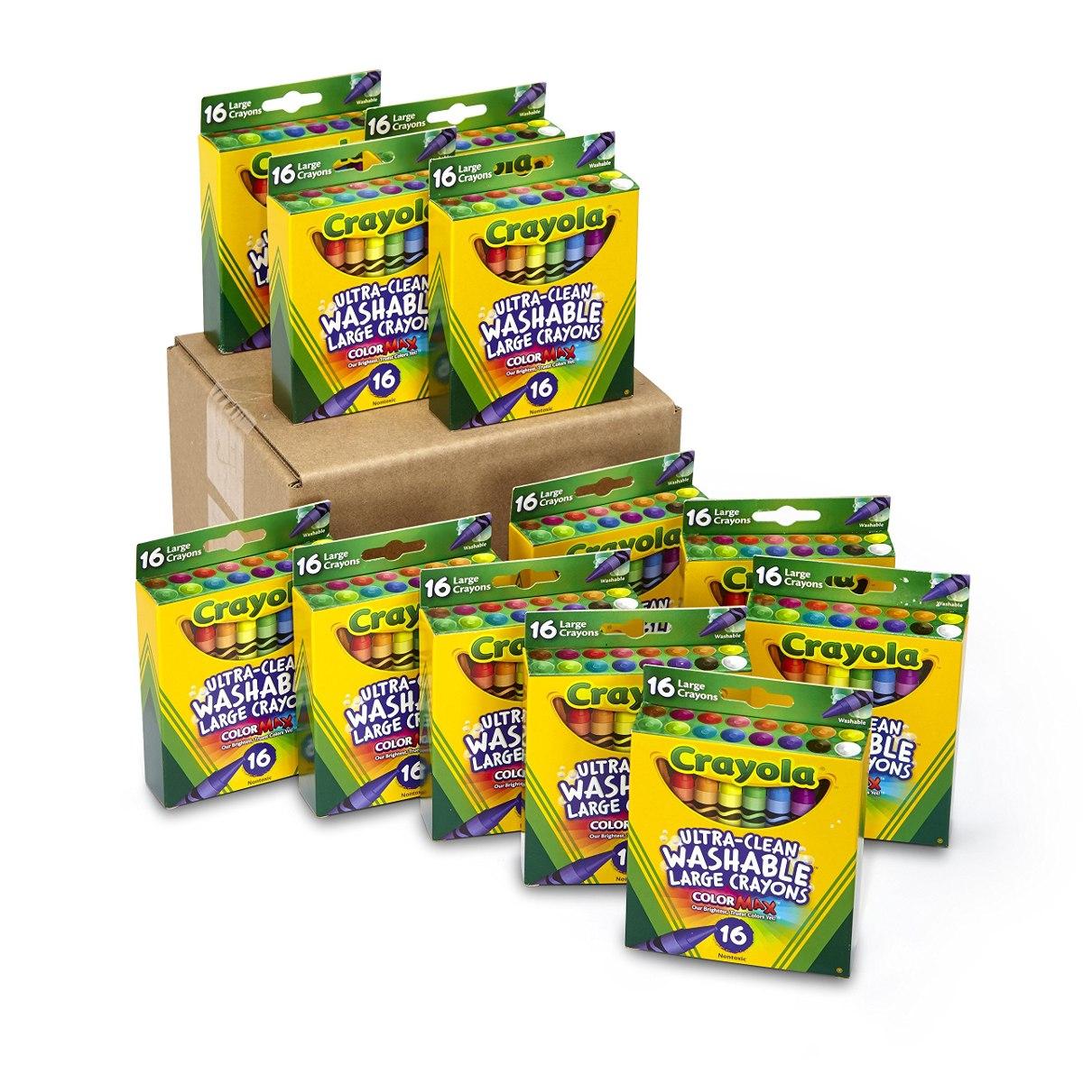 Crayola Ultra-clean Crayones Grandes Lavables, Juego A Gr - U$S 98 ...