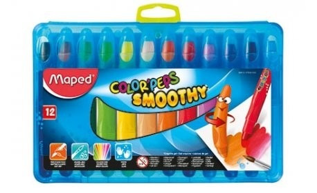 crayones de gel maped colorpeps smoothy x12