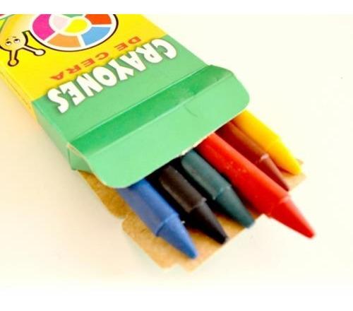 crayones goya 6 colores